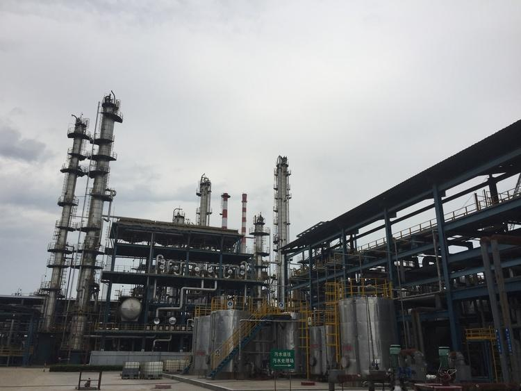 PCC crude oil distillation unit