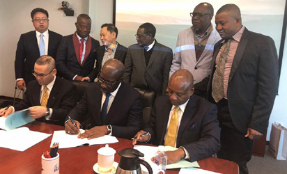 PCC Signed a 5,500 barrel per day modular refinery in Edo State, Nigeria
